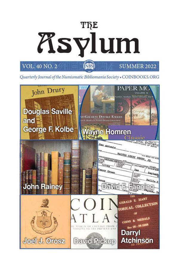 Cover of Asylum V37N2 - Asylym Summer 2019