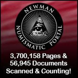 Newman Numismatic Portal - NNP Pagecount 3,128,804 pages and 40,054 documents